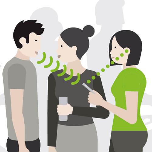 Hörhjälpmedel - Mikrofon för möten